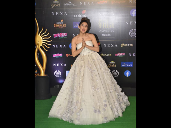 Sara Ali Khan 20th IIFA Awards
