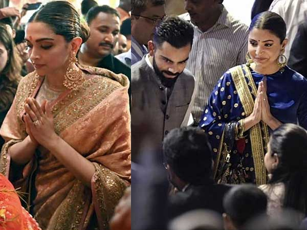 Deepika Padukone And Anushka Sharma's Elegant Outfits Are By The Same Designer