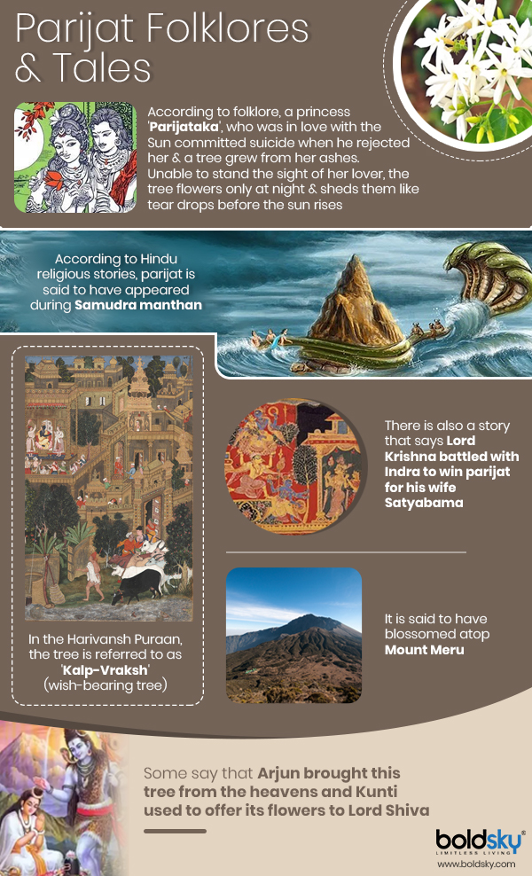 parijat myths