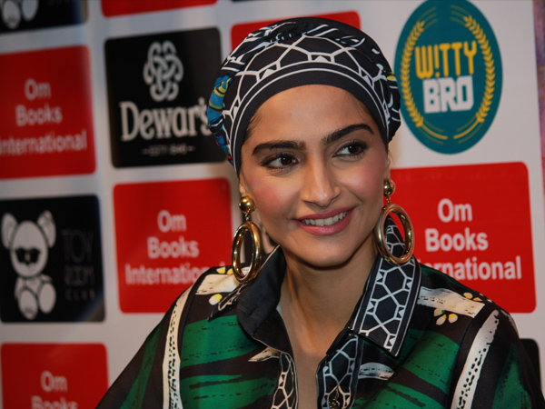 Sonam Kapoor Ahuja Book Launch