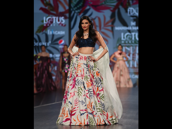 Athiya Shetty India Fashion Week