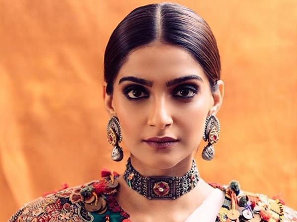 Sonam Kapoor Ahuja Gives Her White Sari A Modern Twist