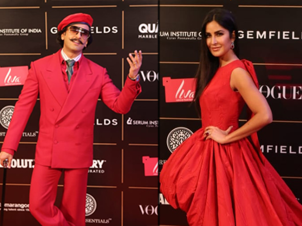 Katrina Kaif And Other Leading Celebs Make A Red Splash At The Vogue Women Of The Year Awards