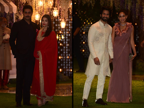 Abhishek-Aishwarya Or Shahid-Mira, Whose Attire At Ambani's Pre-Wedding Bash Did We Like More?