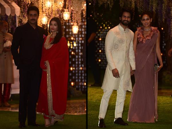 Abhishek-Aishwarya Or Shahid-Mira, Whose Attire At Ambani's Pre-Wedding Bash Did We Like More?