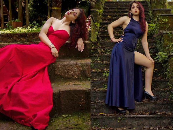 Aamir Khan's Daughter Ira Khan Has Red And Blue Gown Goals For Us