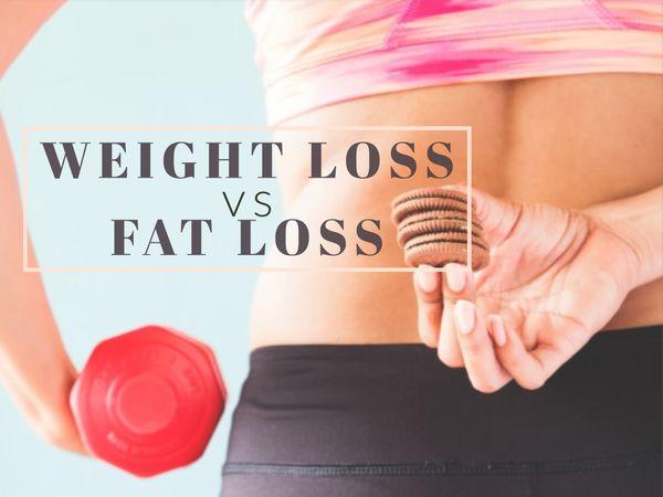 perte de poids vs perte de graisse