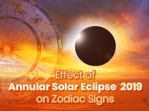 Zodiac Signs And Annular Solar Eclipse