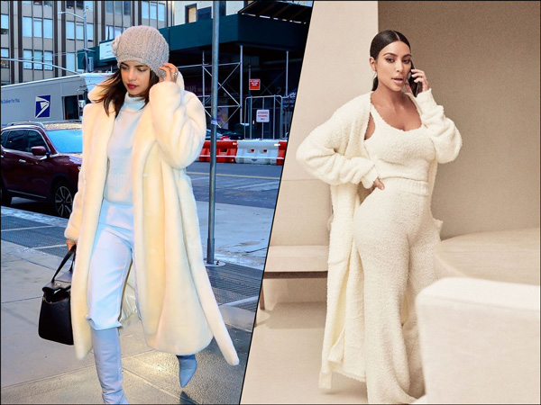 Priyanka Chopra Jonas And Kim Kardashian West Will Inspire You To Buy Warm And Soft Coats
