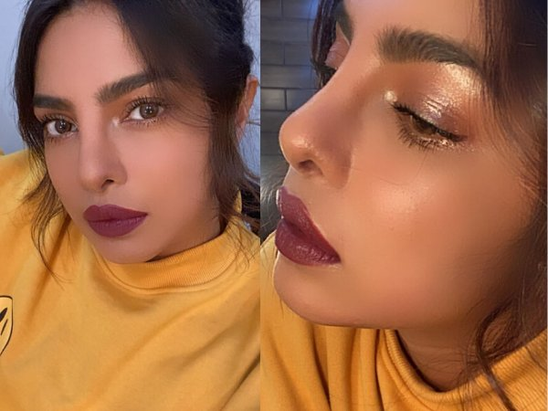 Here Is How You Can Recreate Priyanka Chopra's Glam And Bold Make-up Look