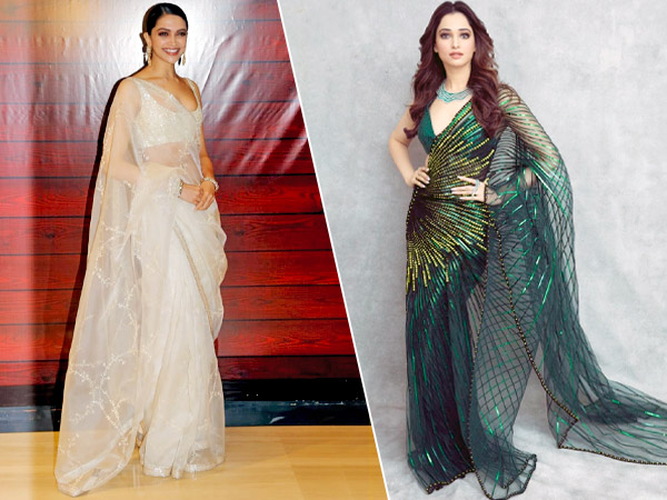 Bollywood Divas In Saris