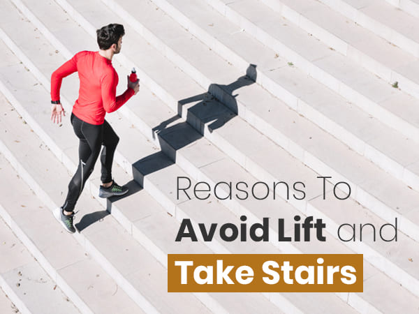 Reasons To Take Stairs And Avoid Lift