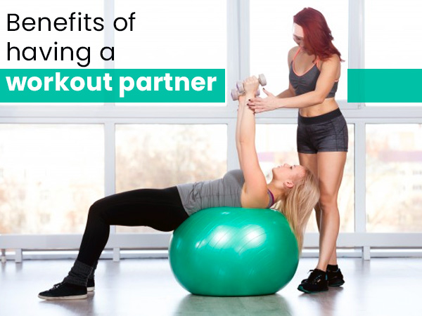 working out with partner