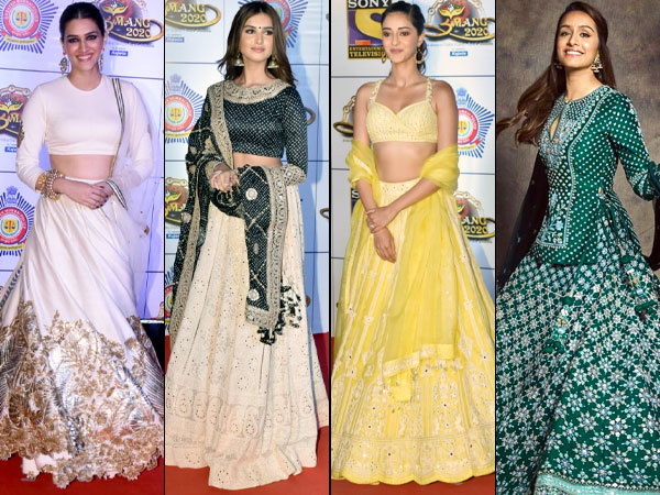 Umang 2020: Kriti Sanon, Shraddha Kapoor, And Other Actresses In Stunning Lehengas