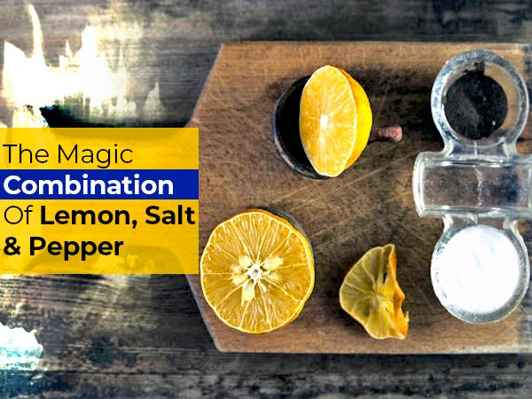 What Pepper, Salt And Lemon Mixture Can Do To Your Body