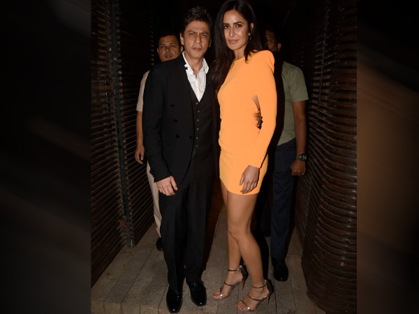 Katrina Kaif And Shah Rukh Khan Make A Fashionable Entry At Ali Abbas Zafar's Birthday Bash