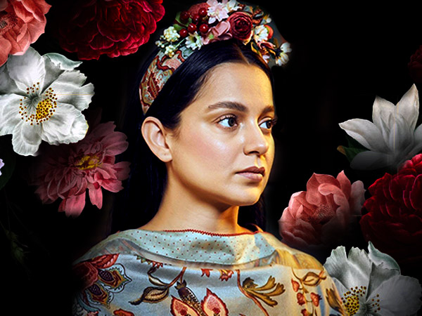 Kangana Ranaut's Hairband Wouldn't Have Made Frida Kahlo Happy But Her Outfit Is Pretty