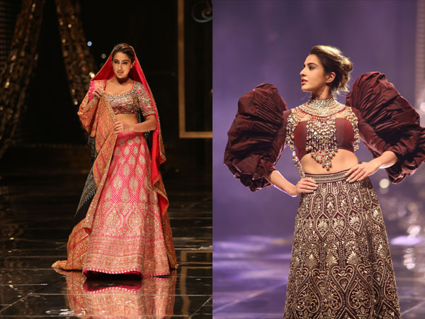 Sara Ali Khan Blenders Pride Fashion Tour