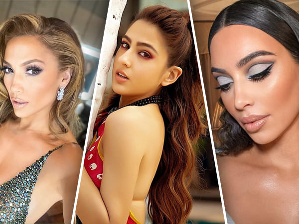 Instagram Beauty Looks Of The Week: Kim Kardashian, Jennifer Lopez, Sara Ali Khan And More