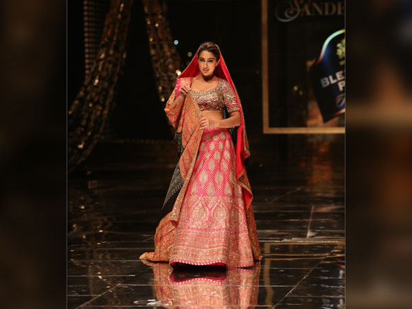 Sara Ali Khan Blenders Pride Fashion Tour 2020