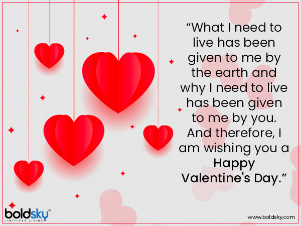 Valentines Day 2020: Quotes & Messages
