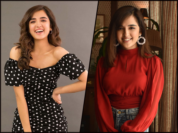 Debutante Shirley Setia Rocks In Red Top-Denim Skirt And Polka Dot Dress At Promotional Rounds