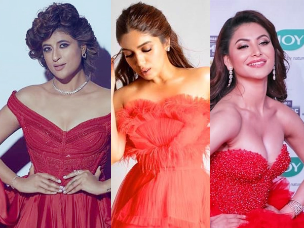 Urvashi Rautela, Bhumi Pednekar Or Tahira Kashyap, Whose Red Gown Wowed You The Most?