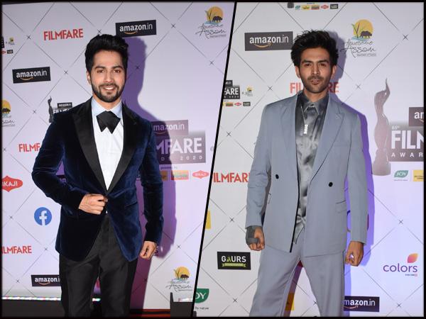 Varun Dhawan, Kartik Aaryan And Other Best Dressed Men At Awards Show