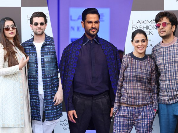 Lakme Fashion Week Summer Resort 2020: Kunal Khemu, Riteish-Genelia And Neil-Rukmini's Fashion Goals