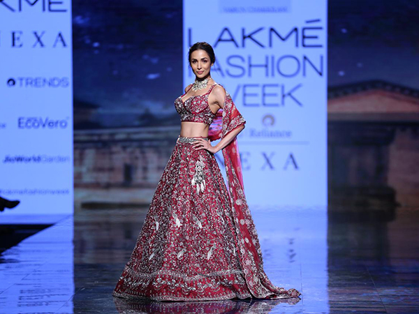 Lakme Fashion Week Summer Resort 2020: Malaika Arora's Lehenga Is What Bridal Dreams Are Made Of