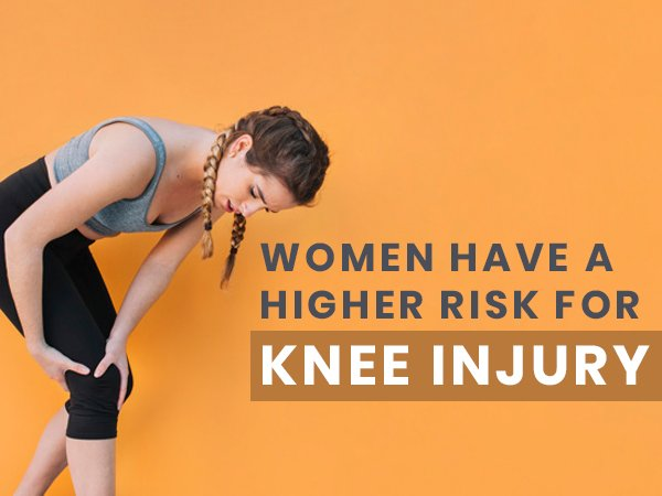 Women Have A Higher Risk Of Knee Injuries Than Men