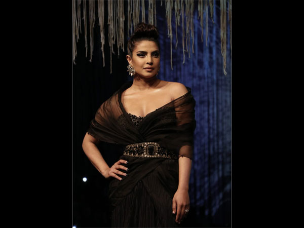 Blenders Pride Fashion Tour 2020 Finale: Priyanka Chopra Jonas Graces The Ramp In A Black Gown