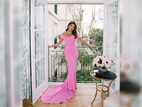 International Womens Day: Priyanka Chopra Jonas In An Off-Shoulder Pink Dress