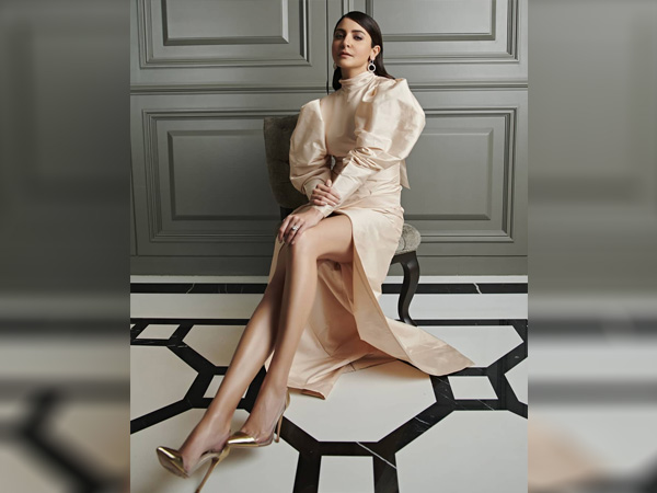 International Womens Day-Anushka Sharma In An Off-White Dress