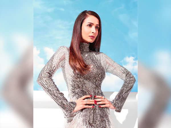 Malaika Arora in a sequin gown