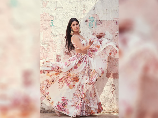 International Womens Day- Katrina Kaif In A Floral Lehenga
