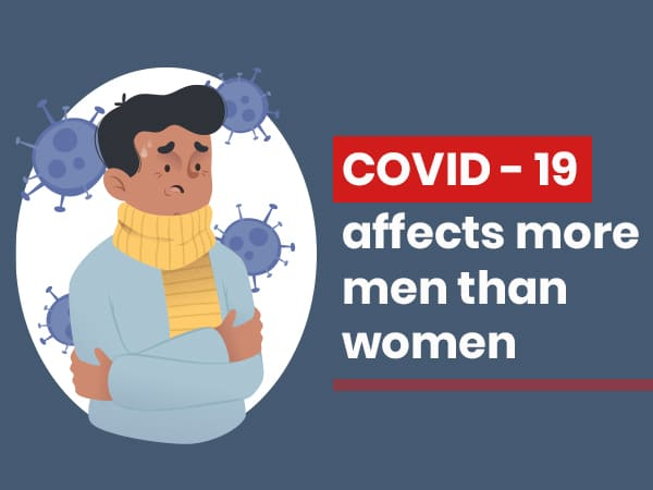 Men Are More Affected By COVID-19