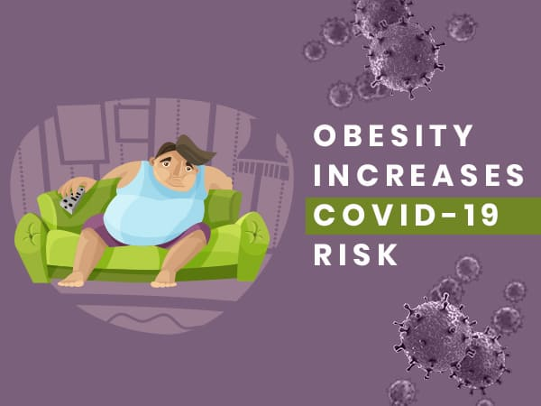 Obese People Are At An Increased Risk Of Contracting COVID-19, Says Study