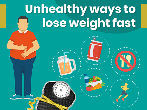 18 Unhealthy Ways To Lose Weight Boldsky Com