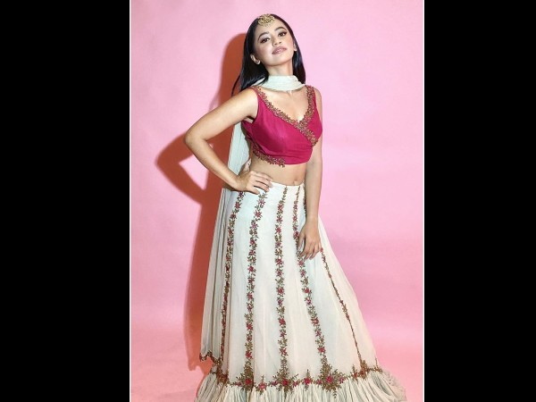 Helly Shah In A Dual-Toned Lehenga