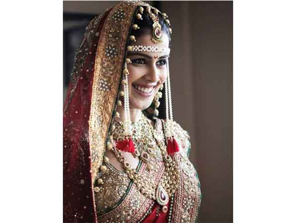 Genelia D' Souza Wedding Attire