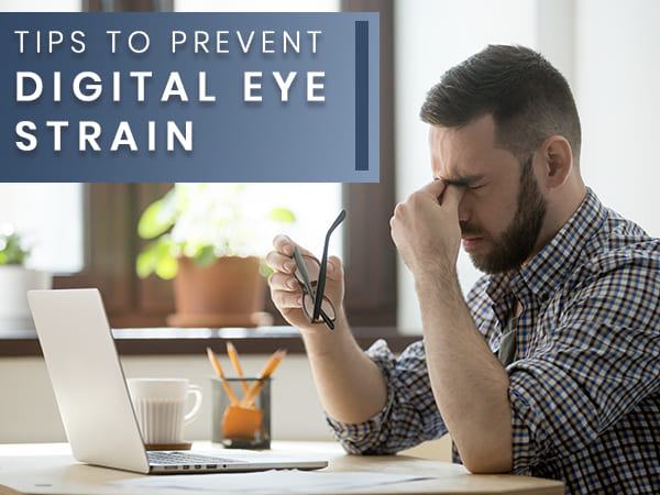10 Tips On How To Prevent Digital Eye Strain While Working From Home