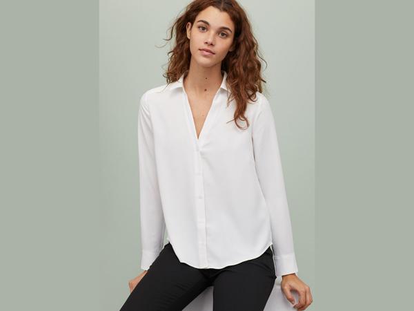 white shirt and black pant