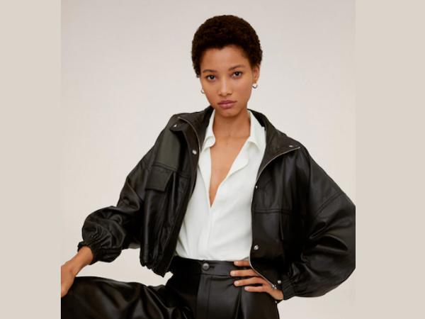 blazer combination with white shirt