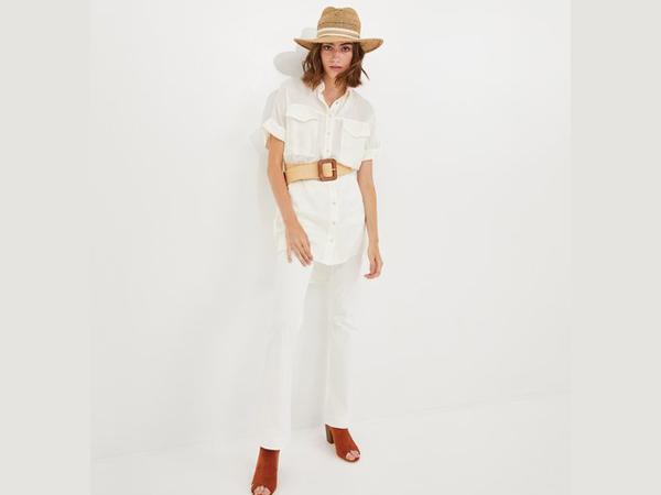 matching pant for white shirt