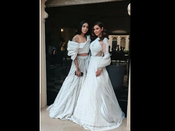 Lisa Ray And Bani J In Bridal Wear