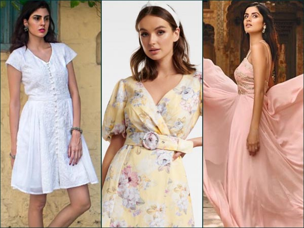 Summer Dresses For Young College And Mid Twenty Girls Boldsky Com