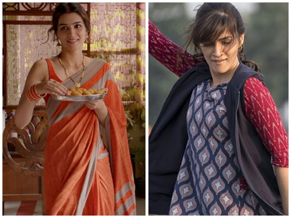 Kriti Sanon's Movie Fashion Decoded