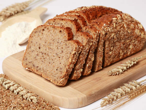 Whole wheat bread For Oral Health