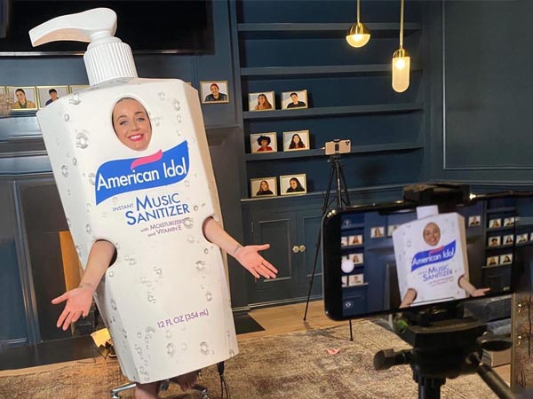 Katy Perry Sanitizer Outfit